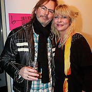 NLD/Amsterdam/20130404- Presentatie kledinglijn Rock & Roll Junkie van Lola Brood, Manuela Kemp en partner Tjerk Lammers