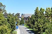 Peltason Drive Through the Campus at the University of California Irvine