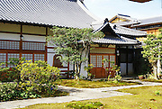 Kyoto, Japan, small garden