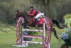 Lambrechts Xander, BEL, Miss Possible<br /> Nationaal Kampioenschap LRV Ponies <br /> Lummen 2020<br /> © Hippo Foto - Dirk Caremans<br /> 27/09/2020