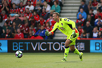 Football - 2016 / 2017 Premier League - AFC Bournemouth vs. Everton<br /> <br /> Bournemouth's Artur Boruc rolls the ball out at Dean Court (The Vitality Stadium) Bournemouth<br /> <br /> Colorsport/Shaun Boggust