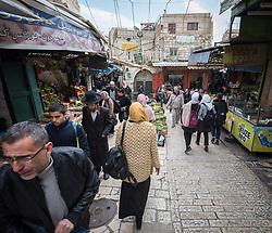 23 February 2020, Jerusalem: Daily life in the Old City, Jerusalem.