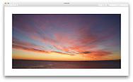 Sunrise over the Atlantic Ocean at Cape Elizabeth Maine, USA