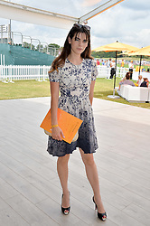 MARTHA FREUD at the Veuve Clicquot Gold Cup Final at Cowdray Park Polo Club, Midhurst, West Sussex on 20th July 2014.