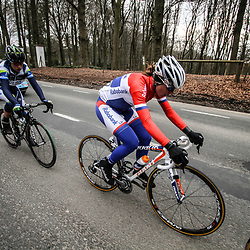 Sportfoto archief 2013<br /> Ronde van Vlaanderen Worldcup women Annemiek van Vleuten, Loes Gunnewijk