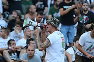 Juventus fans before during the Champions League Final between Juventus FC and FC Barcelona at the Olympiastadion, Berlin, Germany on 6 June 2015. Photo by Phil Duncan.