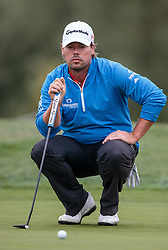 27.09.2015, Beckenbauer Golf Course, Bad Griesbach, GER, PGA European Tour, Porsche European Open, im Bild Mikael Lundberg (SWE) // during the European Tour, Porsche European Open Golf Tournament at the Beckenbauer Golf Course in Bad Griesbach, Germany on 2015/09/27. EXPA Pictures © 2015, PhotoCredit: EXPA/ JFK