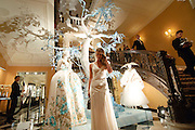 ANNABEL WALLACE, Unveiling of the Dior Christmas Tree by John Galliano at Claridge's. London. 1 December 2009
