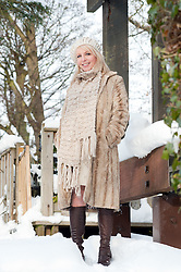 Deanna Sampson UK National lottery winner..4th December 2010.Images © Paul David DrabbleDeana Sampson from Sheffield UK National lottery winner at home and at work..4th December 2010.Images © Paul David Drabble