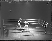 31/10/1952.10/31/1952.31 October 1952.Boxing Germany v Ireland at the National Stadium. .G. McNally v S. Egon.