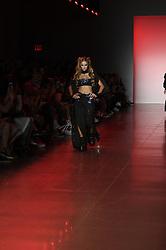 September 12, 2018 - New York, New York, U.S - September, 2018 - New York, New York  U.S. - PARIS HILTON on the runway at the NAMILIA S/S 2019 RTW show during New York Fashion Week 2018.  (Credit image (c) Theano Nikitas/ZUMA Wire/ZUMAPRESS.com (Credit Image: © Theano Nikitas/ZUMA Wire)