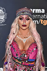 Aubrey O'Day attends the 2017 Maxim Halloween Party on October 21st, 2017 in Los Angeles, California. Photo by Lionel Hahn/AbacaPress.com