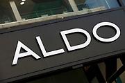 Sign for shoe shop Aldo.