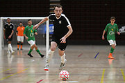 Capital player Alex Brodie in action in the Mens Futsal Superleague match, Central v Capital, Pettigrew Green Arena, Napier, Saturday, September 28, 2019. Copyright photo: Kerry Marshall / www.photosport.nz