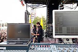 Phantogram perform at The Treasure Island Music Festival 2010