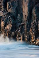 Coastal landscapes in Punta Larga, in south La Palma, Canary Islands, Spain.