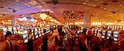 The Trump Taj Mahal Hotel Gambling Hall in Atlantic City.