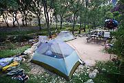 Indian Gardens camping site, Grand Canyon National Park, Arizona, USA
