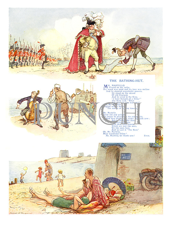 The Bathing-Hut (illustrated poem)