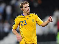 Fotball<br /> 06.06.2011<br /> Foto: Witters/Digitalsport<br /> NORWAY ONLY<br /> <br /> Mykola Ischenko (Ukraine)<br /> Testspiel, Ukraine - Frankreich 1:4<br /> <br /> Testspiel, Ukraina v Frankrike 1:4