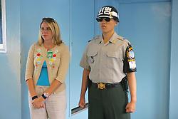 Tourist Inside North Korea, Inside Panmunjeom, JSA, Joint Security Area