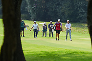 Francesco Molinari (ITA) chats as he heads down 2 during Rd4 of the World Golf Championships, Mexico, Club De Golf Chapultepec, Mexico City, Mexico. 2/23/2020.<br /> Picture: Golffile | Ken Murray<br /> <br /> <br /> All photo usage must carry mandatory copyright credit (© Golffile | Ken Murray)