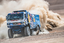 Eduard Nikolaev (RUS), of KAMAZ – Master races during stage 4 of Rally Dakar 2019 from Arequipa to Tacna, Peru on January 10, 2019. // Flavien Duhamel/Red Bull Content Pool // AP-1Y3A5XBPH2111 // Usage for editorial use only // Please go to www.redbullcontentpool.com for further information. //