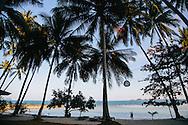 Bang Kao Laem Set Koh Samui Beach Thailand Sunset