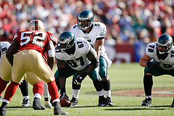 12 Oct 2008: Philadelphia Eagles quarterback Donovan McNabb #5 during the game against the San Francisco 49ers on October 12th, 2008. The Eagles won 40-26 at Candlestick Park in San Francisco, California. (Photo by Brian Garfinkel) (Photo by Brian Garfinkel)