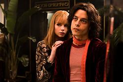 Lucy Boynton (Mary Austin) and Rami Malek (Freddie Mercury) star in Twentieth Century Fox's BOHEMIAN RHAPSODY. Photo Credit: Alex Bailey.