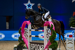 FALKE Paulina (GER), Con Air Z<br /> München - Munich Indoors 2018<br /> SPOOKS-Amateur Trophy<br /> 23. November 2018<br /> © www.sportfotos-lafrentz.de/Stefan Lafrentz