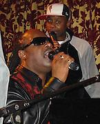 Stevie Wonder & Doug e Fresh.**EXCLUSIVE**.Candyland Host Motown CEO Kedar Massenburg Surprise Birthday Party where Stevie Wonder, Joe, Doug e Fresh, Greg Mack performed..Show Nightclub.New York, NY, USA.Friday, February, 28, 2003.Photo By Celebrityvibe.com/Photovibe.com..