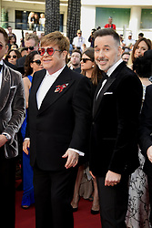 72nd Cannes Film Festival 2019, Red Carpet Rocketman. Pictured : Elton John, David Furnish