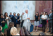 CHARLES SAUMAREZ SMITH; VDrinks party to launch this year's Frieze Masters.Hosted by Charles Saumarez Smith and Victoria Siddall<br />  Academicians' room - The Keepers House. Royal Academy. Piccadilly. London. 3 July 2014
