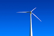 Wind turbine, Madison, New York, USA