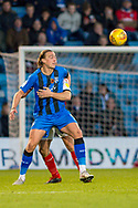 Gillingham FC forward Tom Eaves (9) during the EFL Sky Bet League 1 match between Gillingham and Fleetwood Town at the MEMS Priestfield Stadium, Gillingham, England on 3 November 2018.<br /> Photo Martin Cole