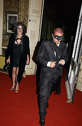 ALEXANDER MCQUEEN and ANNABEL NEILSON at the 2006 Moet & Chandon Fashion Tribute in honour of photographer Nick Knight, held at Strawberry Hill House, Twickenham, Middlesex on 24th October 2006.<br /><br />NON EXCLUSIVE - WORLD RIGHTS