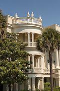 Porcher-Simonds House on East Battery in historic Charleston, SC.