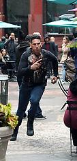 "Jon Bernthal Filming ""The Punisher"" - 22 May 2018"