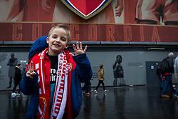 Arsenal fans arrive at Emirates Stadium - Mandatory byline: Jason Brown/JMP - 07966386802 - 09/01/2016 - FOOTBALL - Emirates Stadium - London, England - Arsenal v Sunderland - The Emirates FA Cup