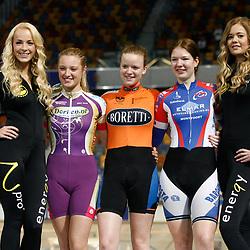 Podium Achtervolging Junioren Vrouwen - Nicky Zijlaard - Bianca Lust - Romy Adegeest