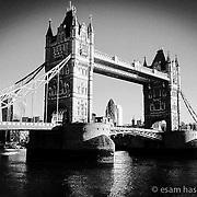 Right side of the morning light. Tower Bridge Shot on iPhone 6 on morning bike ride.