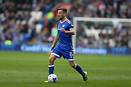 Joe Ralls of Cardiff city in action. EFL Skybet championship match, Cardiff city v Birmingham City at the Cardiff City Stadium in Cardiff, South Wales on Saturday 11th March 2017.<br /> pic by Andrew Orchard, Andrew Orchard sports photography.