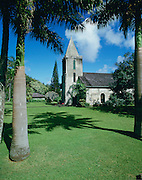 Wananalua Church, Hana, Maui, Hawaii, USA<br />