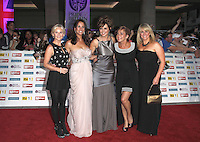 Lisa Maxwell; Andrea McLean; Carol Vorderman; Denise Welch; Sally Lindsay Pride of Britain Awards, Grosvenor House Hotel, London, UK. 03 October 2011. Contact: Rich@Piqtured.com +44(0)7941 079620 (Picture by Richard Goldschmidt)