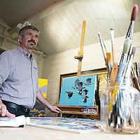 Artist Derek Robertson