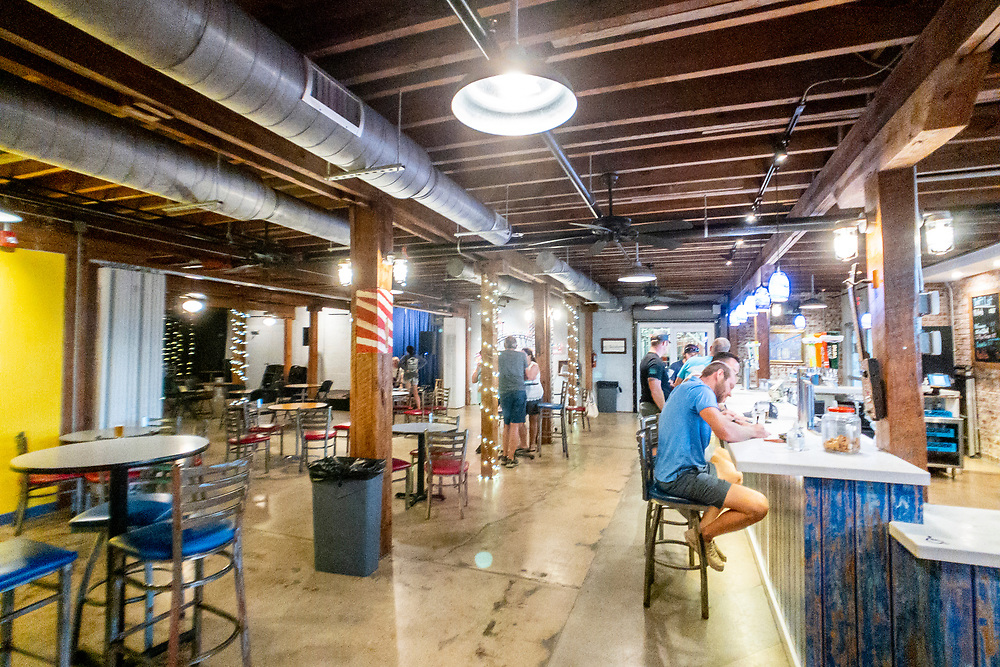 Waterline Brewing Company in Wilmington, North Carolina on Thursday, August 12, 2021. Copyright 2021 Jason Barnette