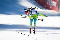 Klemen Bauer (SLO) during Men 15 km Mass Start at day 4 of IBU Biathlon World Cup 2015/16 Pokljuka, on December 20, 2015 in Rudno polje, Pokljuka, Slovenia. Photo by Ziga Zupan / Sportida