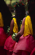 Hula dancers, Hawaii<br />