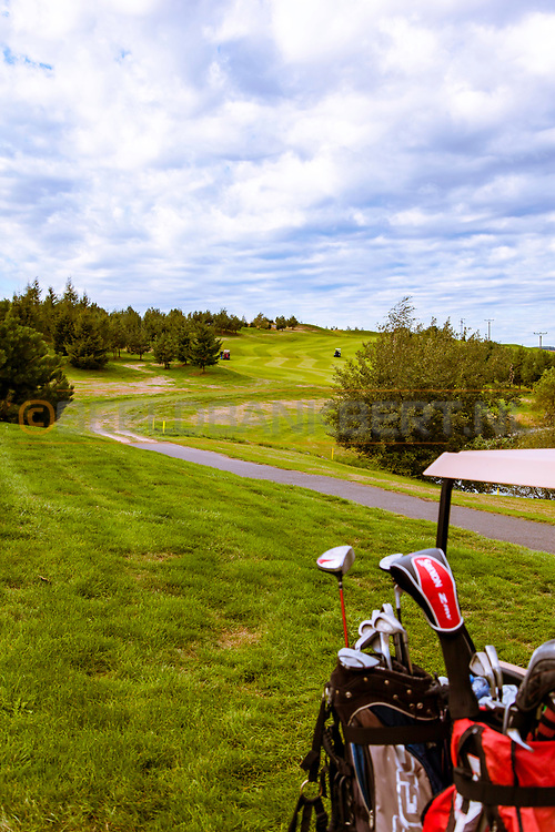18-09-2015: Golf & Spa Resort Konopiste in Benesov, Tsjechië.<br /> Foto: De pittige zesde